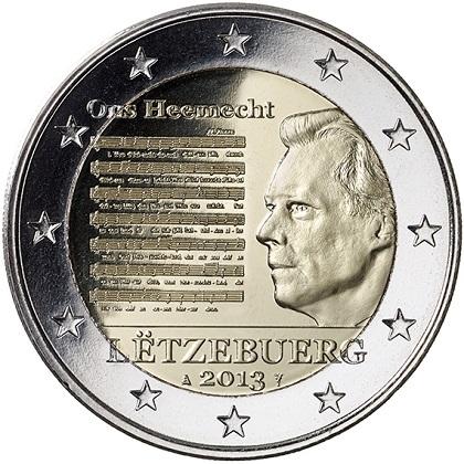 Pieces En Euros Du Luxembourg