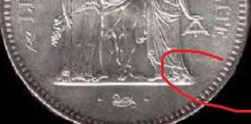 Piece 50 Francs Argent Hercule Valeur