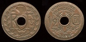 anciennes monnaies de l 39 indochine fran aise. Black Bedroom Furniture Sets. Home Design Ideas