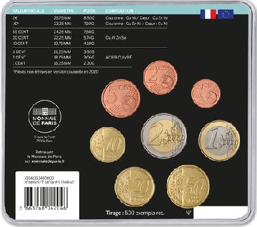 MINISET € JACQUES CHIRAC 2020