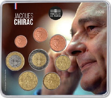 MINISET € JACQUES CHIRAC