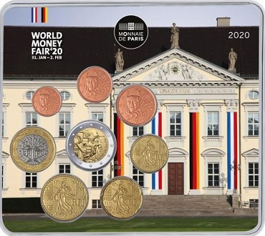Euro set BU France 2020  World Money Fair