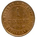 1 centime ceres 1876