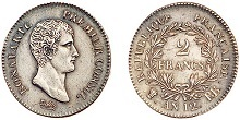 2 francs bonaparte an 12