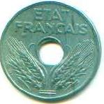 20 centimes 1944