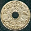 5 centimes maillechort 1939