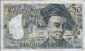billet de 50 francs quentin de la tour