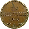1 centime dupre 1848