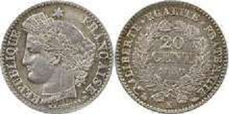 20 centimes ceres