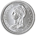 1 franc republique 1992