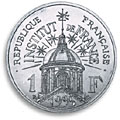 1 franc commemorative 1995