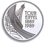 5 francs commemorative 1989