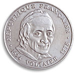 5 francs commemorative 1994