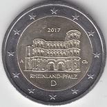 EUROPE PROGRAMME DES EMISSIONS DE PIECES DE 2 EUROS POUR 2017 dans Numismatique 2017 2-euros-commemorative-2017-allemagne-porta-nigra