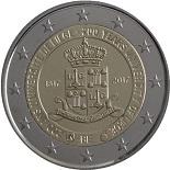 2-euros-commemorative-2017-belgique-universite-liege anniversaire dans Numismatique 2017