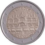 2-euros-commemorative-2017-italie-venezia-san-marco eglise