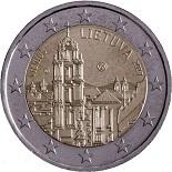 2-euros-commemorative-2017-lituanie-vilnius indépendance