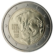2-euros-commemorative-2017-portugal-brandao rodin