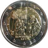 2-euros-commemorative-2017-slovaquie-istropolitana temple