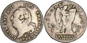piece de monnaie 1792