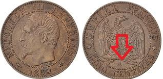 piece de monnaie napoleon 1855