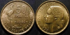 50 Francs Coq Guiraud 1950 1958