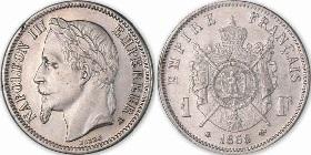 piece de monnaie napoleon 3 1866
