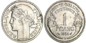 piece de monnaie 1 franc 1947. Black Bedroom Furniture Sets. Home Design Ideas