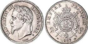 piece de monnaie napoleon 3 1867