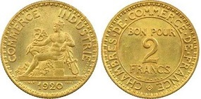 Bon pour 2 francs 1941 for Bon pour 1 franc chambre de commerce