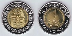 1 pound 2007 Egypte