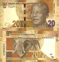 billet de banque afrique du sud