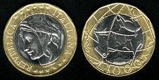 piece de monnaie italienne